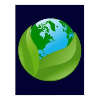 ENVIRONMENTAL EARTH POSTCARD