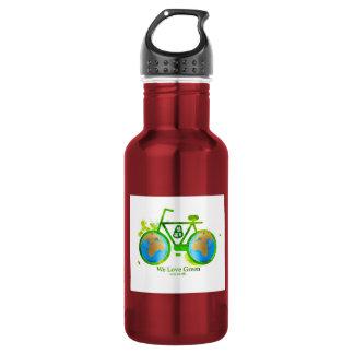 Environmental eco-friendly green bike beer stein water bottle