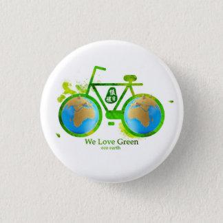 Environmental eco-friendly green bike button