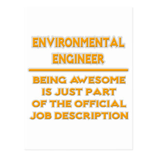 Environmental Engineer .. Job Description Postcard