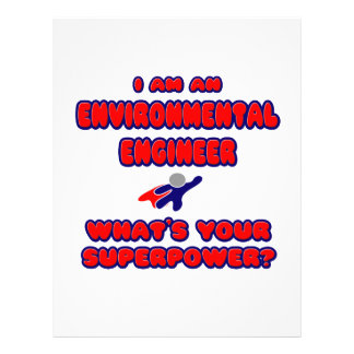 Environmental Engineer .. What's Your Superpower? Letterhead