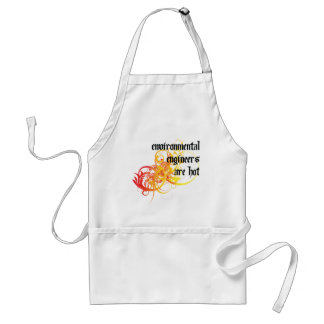 Environmental Engineers Are Hot Adult Apron