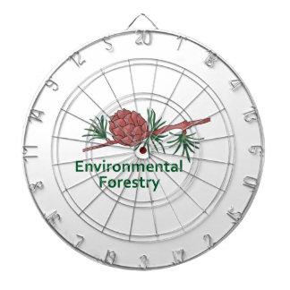 Environmental Forestry Dart Board