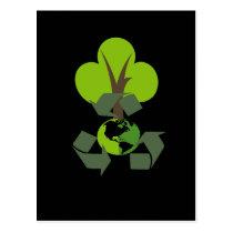 Environmental Friendly Green Recycling Postcard