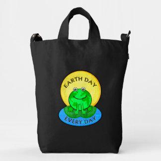 Environmental Frog Green Eco BAGGU Duck Bag