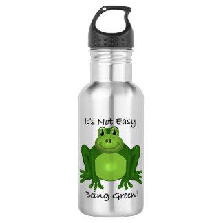Environmental Frog Stainless Steel Water Bottle