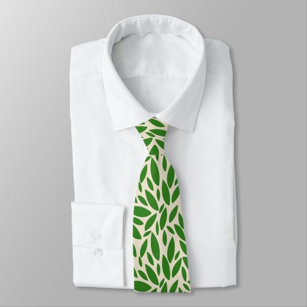 Environmental green nature based tie