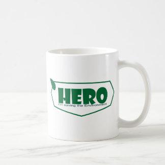Environmental hero mugs