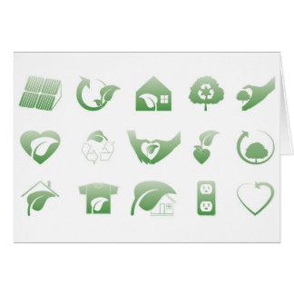 environmental icons 1 card