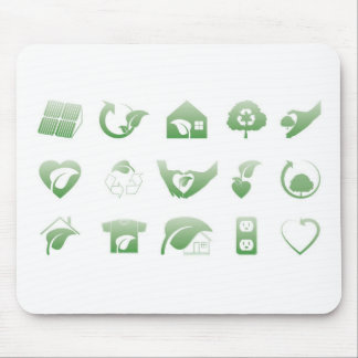 environmental icons 1 mouse pad