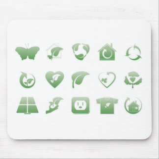 environmental icons 2 mouse pad