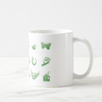 environmental icons 3 coffee mug