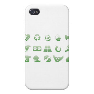 environmental icons 3 iPhone 4 case