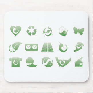 environmental icons 3 mouse pad