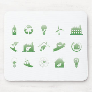 environmental icons 4 mouse pad
