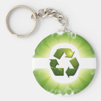 Environmental Issues Keychain
