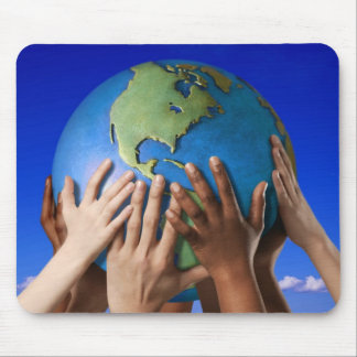 Environmental Issues Save The World Mouse Pad
