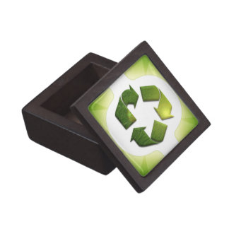 Environmental Issues Small Gift Box Premium Trinket Box