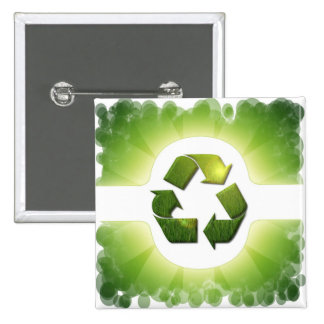 Environmental Issues Square Pin
