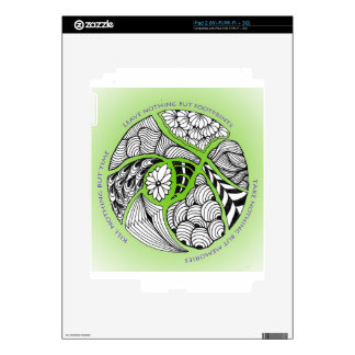 Environmental Mantra for Hikers & Mountain Climber Skin For The iPad 2