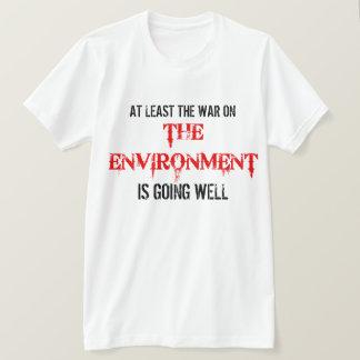 Environmental Political Activist T Shirt