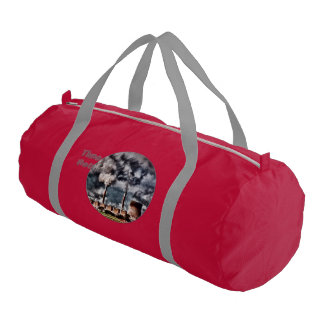 Environmental Pollution Gym Bag