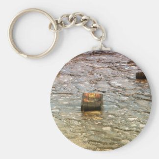 Environmental pollution keychain