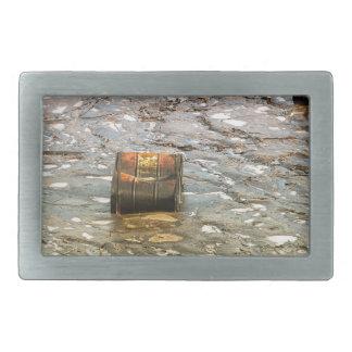 Environmental pollution rectangular belt buckle