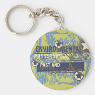 Environmental Preservation Tshirts and Gifts Keychain