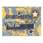 Environmental Preservation Tshirts and Gifts Postcard