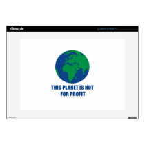 "environmental protection 15"" laptop decal"