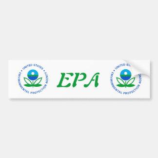 Environmental Protection Agency Bumper Sticker