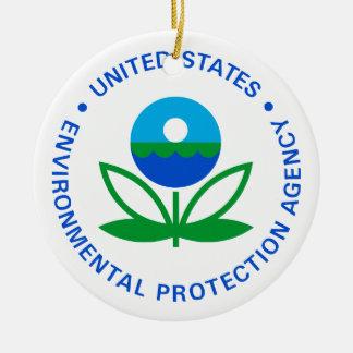 Environmental Protection Agency Ceramic Ornament