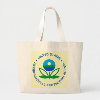 ENVIRONMENTAL PROTECTION AGENCY LARGE TOTE BAG