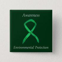 Environmental Protection Awareness Ribbon Pins