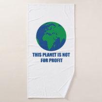 environmental protection bath towel