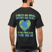 Environmental protection climate protection nature T-Shirt