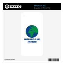 environmental protection decal for iPhone 4