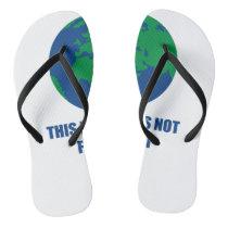 environmental protection flip flops