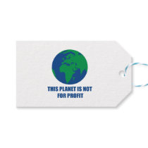 environmental protection gift tags
