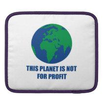 environmental protection iPad sleeve