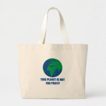 environmental protection large tote bag