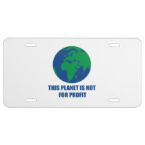 environmental protection license plate