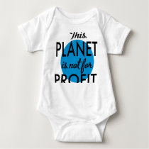 Environmental Protection - planet emergency for Baby Bodysuit