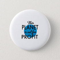 Environmental Protection - planet emergency for Button
