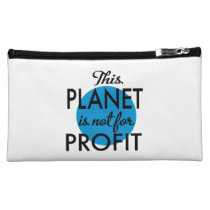 Environmental Protection - planet emergency for Cosmetic Bag