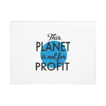 Environmental Protection - planet emergency for Doormat