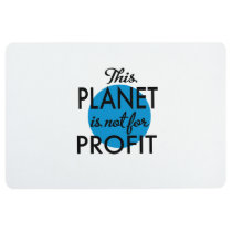 Environmental Protection - planet emergency for Floor Mat