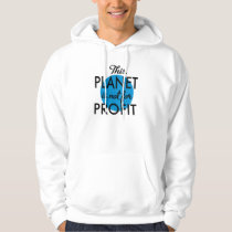 Environmental Protection - planet emergency for Hoodie