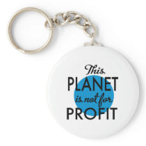 Environmental Protection - planet emergency for Keychain